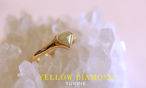 yellowdaiamond ring